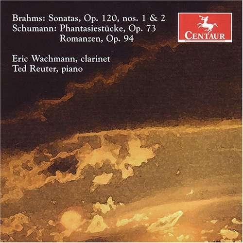 Sonata 1 & 2 - Brahms / Schumann / Wachmann / Reuter - Musik - Centaur - 0044747284422 - April 24, 2007