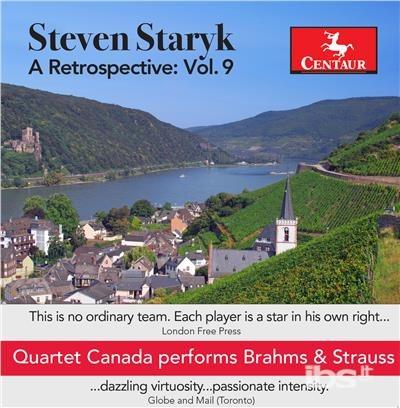 Retrospective 9 - Brahms / Quartet Canada / Tsutsumi - Musik -  - 0044747338422 - 3/11-2017