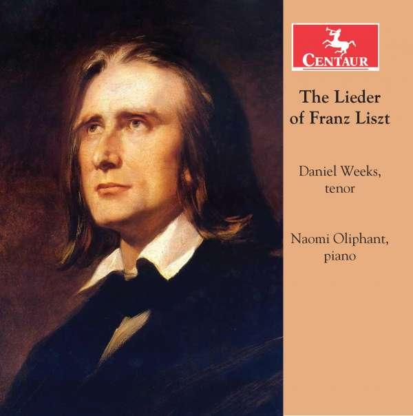Lieder of Franz Liszt - F. Liszt - Musik - CENTAUR - 0044747341422 - 9/9-2016