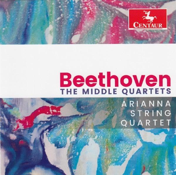 Middle Quartets - Beethoven - Musik - CENTAUR - 0044747354422 - 3/11-2017