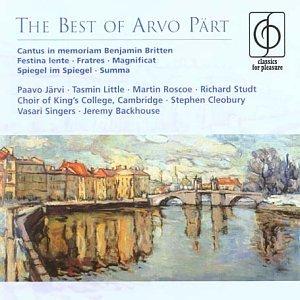 Best of - Arvo Pärt - Musik - EMI CLASSICS FOR PLEASURE - 0724358591422 - 17/5-2004