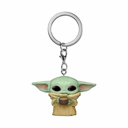 THE MANDALORIAN - Pocket Pop Keychains - The Child - Figurine - Merchandise - FUNKO UK LTD - 0889698530422 - June 20, 2021