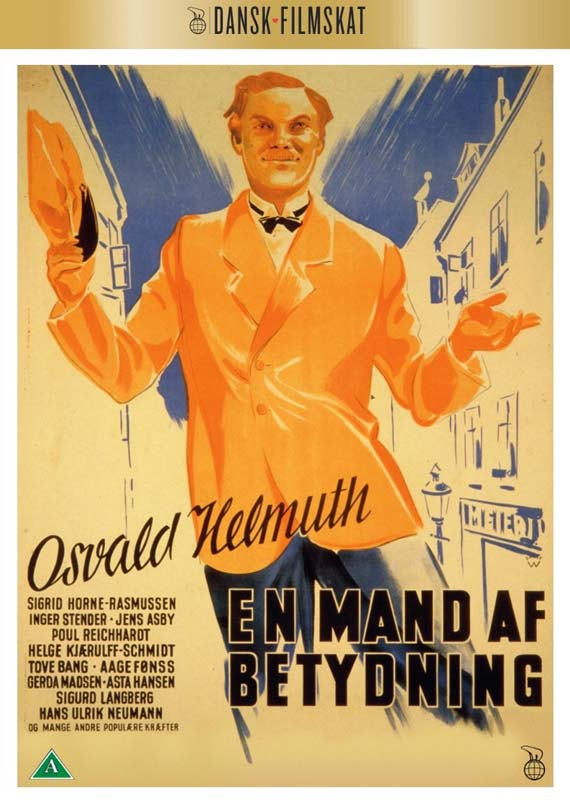 En Mands Af Betydning -  - Film - Nordisk Film - 5708758725422 - November 5, 2020