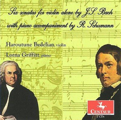 Sonatas & Partitas - R. Schumann - Musik - CENTAUR - 0044747290423 - March 21, 2012