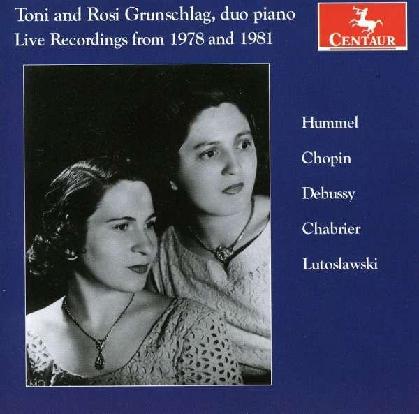 Grand Sonata for Piano 4 Hands / Rondo - Grunschlag / Grunschlag - Musik - CENTAUR - 0044747302423 - March 21, 2012