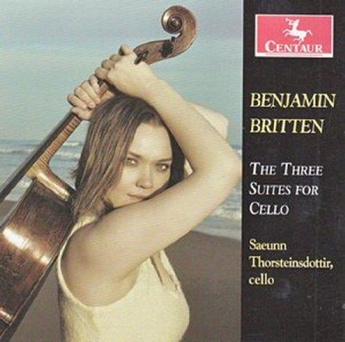 Three Cello Suites - Saeunn Thorsteinsdottir - Musik - CENTAUR - 0044747315423 - 7/3-2012