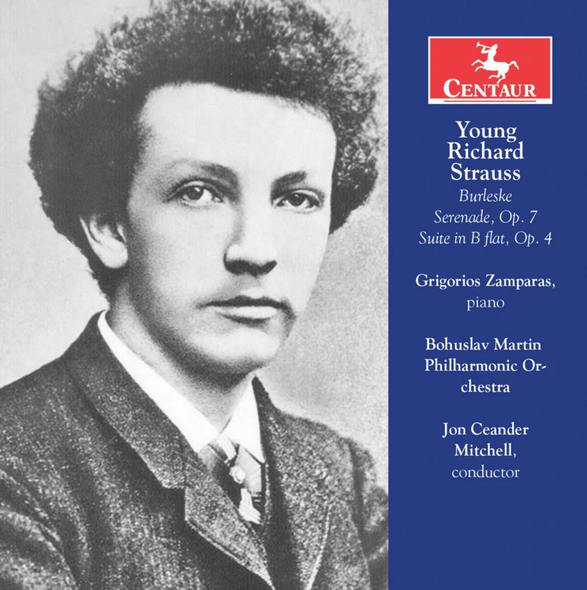 Young Richard Strauss - Grigorios Zamparas - Musik - CENTAUR - 0044747357423 - 6/9-2019
