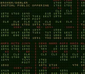 Initial Public Offering - Broker / Dealer - Musik - ASPHODEL - 0753027201423 - July 24, 2003