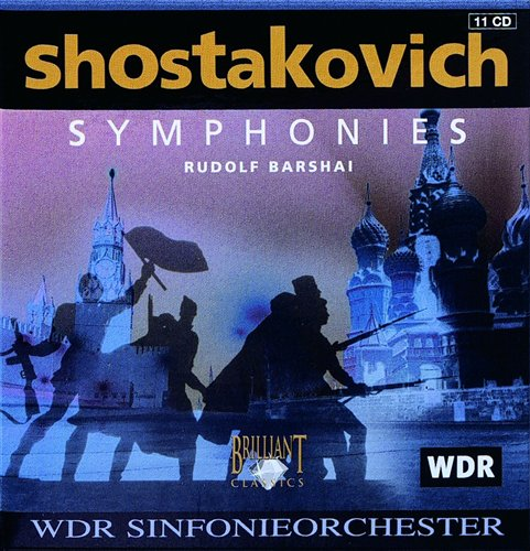 Symphonies =cardboard Box - D. Shostakovich - Musik - BRILLIANT CLASSICS - 5029365632423 - 24/1-2002