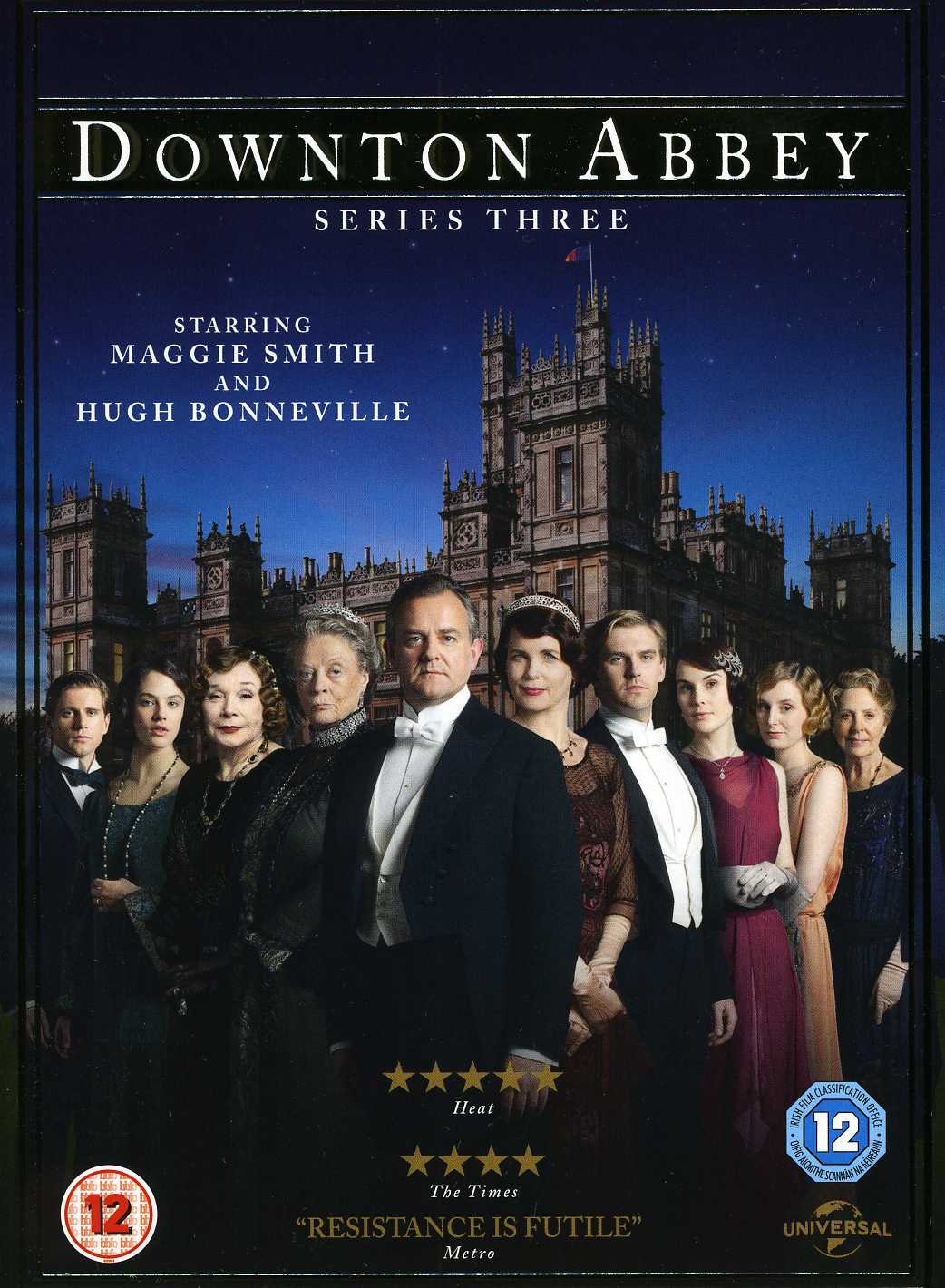 Downton Abbey S3 DVD - Warner Video - Film - UNIVERSAL PICTURES - 5050582916423 - 5. november 2012