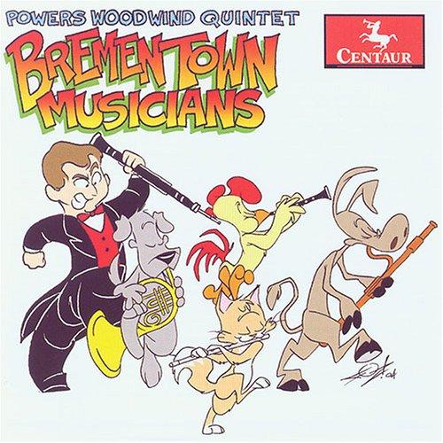 Bremen Town Musicians - Deak / Berio / Prokofiev / Powers Woodwind Quintet - Musik - Centaur - 0044747277424 - 28/3-2006
