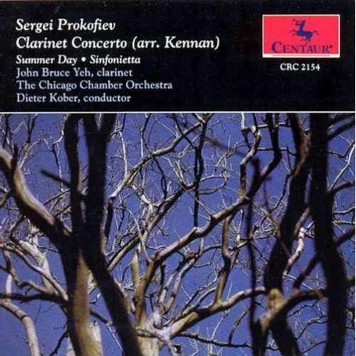 Clarinet Concerto - Prokofiev / Yeh - Musik - CENTA - 0044747215426 - 16/4-1995
