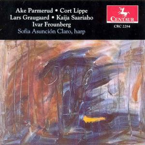 Works for Harp - Parmerud / Lippe / Saariaho / Frounberg / Claro - Musik - Centaur - 0044747228426 - 17/12-1996