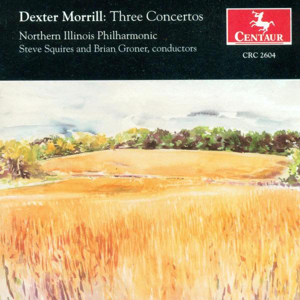 Three Concertos - D. Morrill - Musik - CENTAUR - 0044747260426 - 25/11-2002