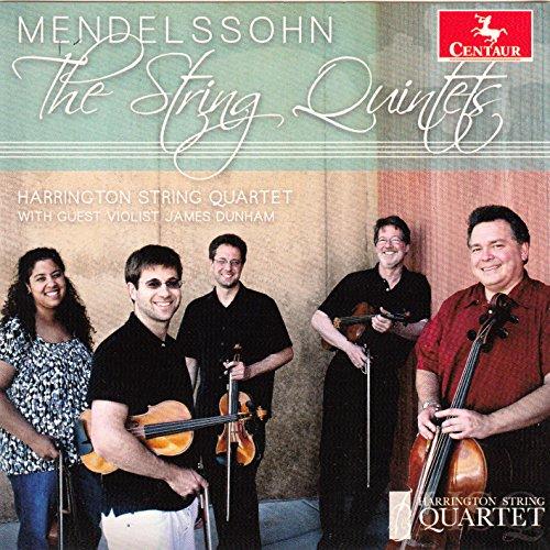String Quintets - F. Mendelssohn-bartholdy - Musik - CENTAUR - 0044747343426 - 4/10-2018