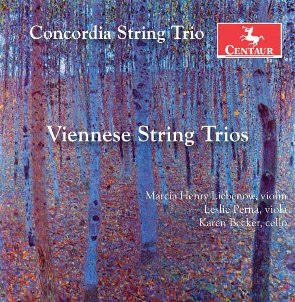 Viennese String Trios - Perger / Zellner - Musik - CENTAUR - 0044747356426 - October 5, 2017