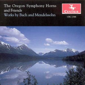Oregon Symphony Horns & Friends - Bach / Mendelssohn - Musik - CAV - 0044747234427 - 12/8-2000