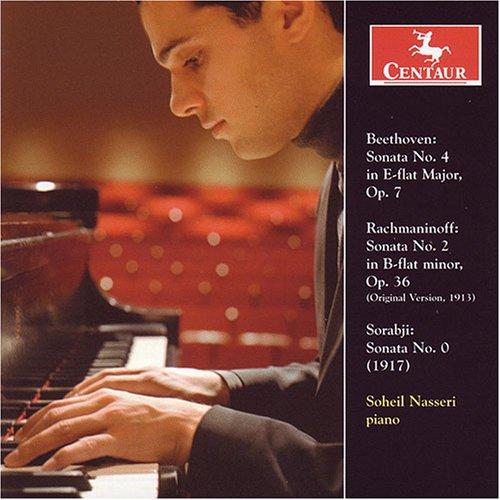 Beethoven, Rachmaninov & Sorabji: Piano Sonatas - Beethoven / Rachmaninoff / Sorabji / Nasseri - Musik - Centaur - 0044747289427 - January 29, 2008