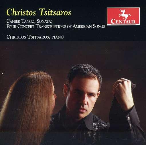 Cahier Tango / Sonata - Christos Tsitsaros - Musik - CENTAUR - 0044747317427 - 21/3-2012