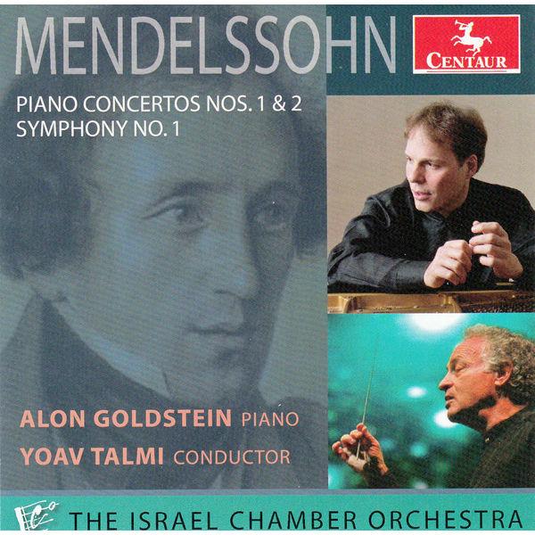 Piano Concertos No.1 & 2 - F. Mendelssohn-bartholdy - Musik - CENTAUR - 0044747333427 - 8/5-2014