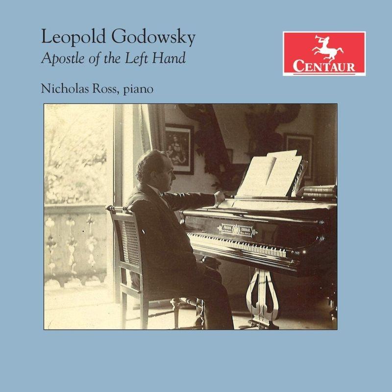 Apostle of the Left Hand - Godowsky / Ross - Musik - CENTAUR - 0044747375427 - 1/5-2020