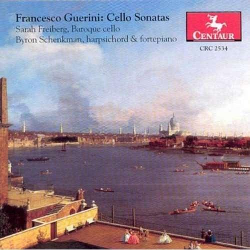 Cello Sonatas 1-6 - Guerini / Freiburg / Schenkman - Musik - CENTA - 0044747253428 - 26/2-2002