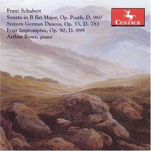 Selected Piano Works - Arthur Rowe - Musik - CENTAUR - 0044747279428 - 30/4-2014