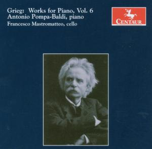 Works for Piano V.6 - Antonio Pompa-baldi - Musik - CENTAUR - 0044747282428 - 30/4-2014