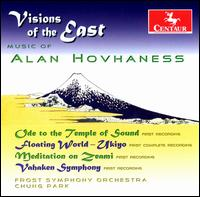 Visions of the East: Music of - A. Hovhaness - Musik - CENTAUR - 0044747295428 - 30/6-1990