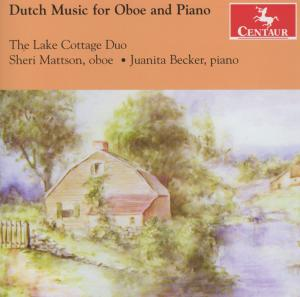 Dutch Music for Oboe & Piano - Lake Cottage Duo - Musik - CENTAUR - 0044747323428 - 15/10-2012
