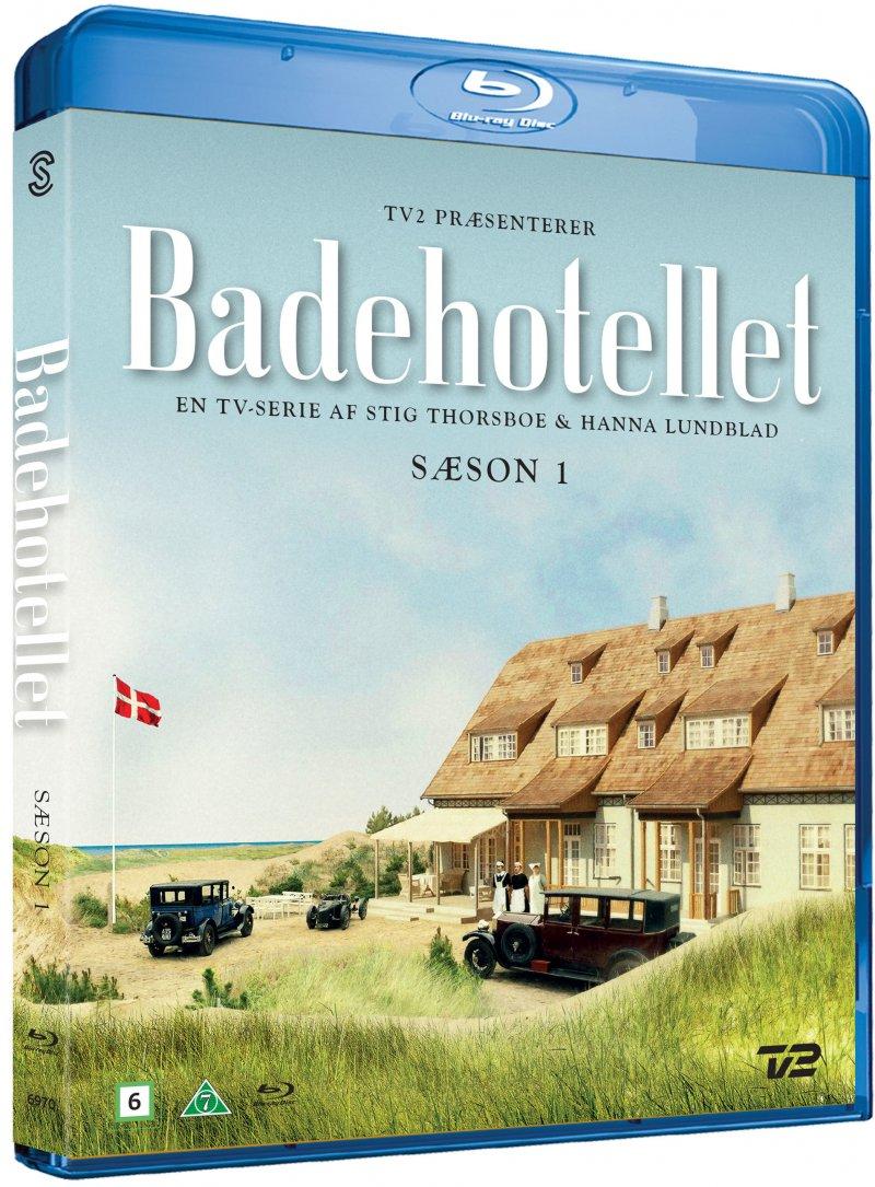 Badehotellet - Sæson 1 - Badehotellet - Film - Scanbox - 5709165146428 - 21. januar 2021