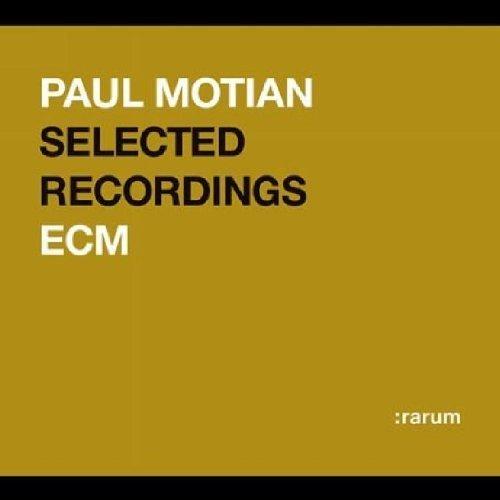 Motian Paul-Selected Recordings - Motian Paul-Selected Recordings - Musik - :RARUM CD - 0044001420429 - 4/6-2010