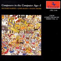 Computer Music 12: Composers / Various - Computer Music 12: Composers / Various - Musik - Centaur - 0044747214429 - 1/9-1993