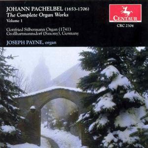 Complete Organ Works V.1 - J. Pachelbel - Musik - CENTAUR - 0044747230429 - 1996