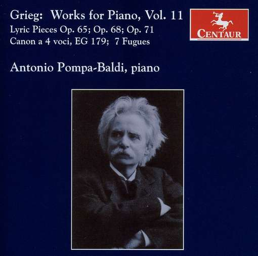 Piano Works V.11 - Antonio Pompa-baldi - Musik - CENTAUR - 0044747298429 - 30/4-2014