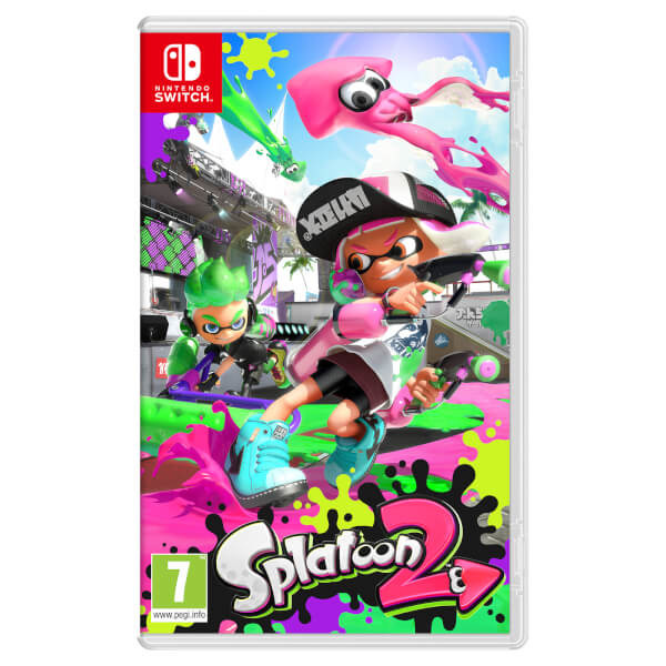 Splatoon 2 Switch - Switch - Spil -  - 0045496420437 - 21/7-2017
