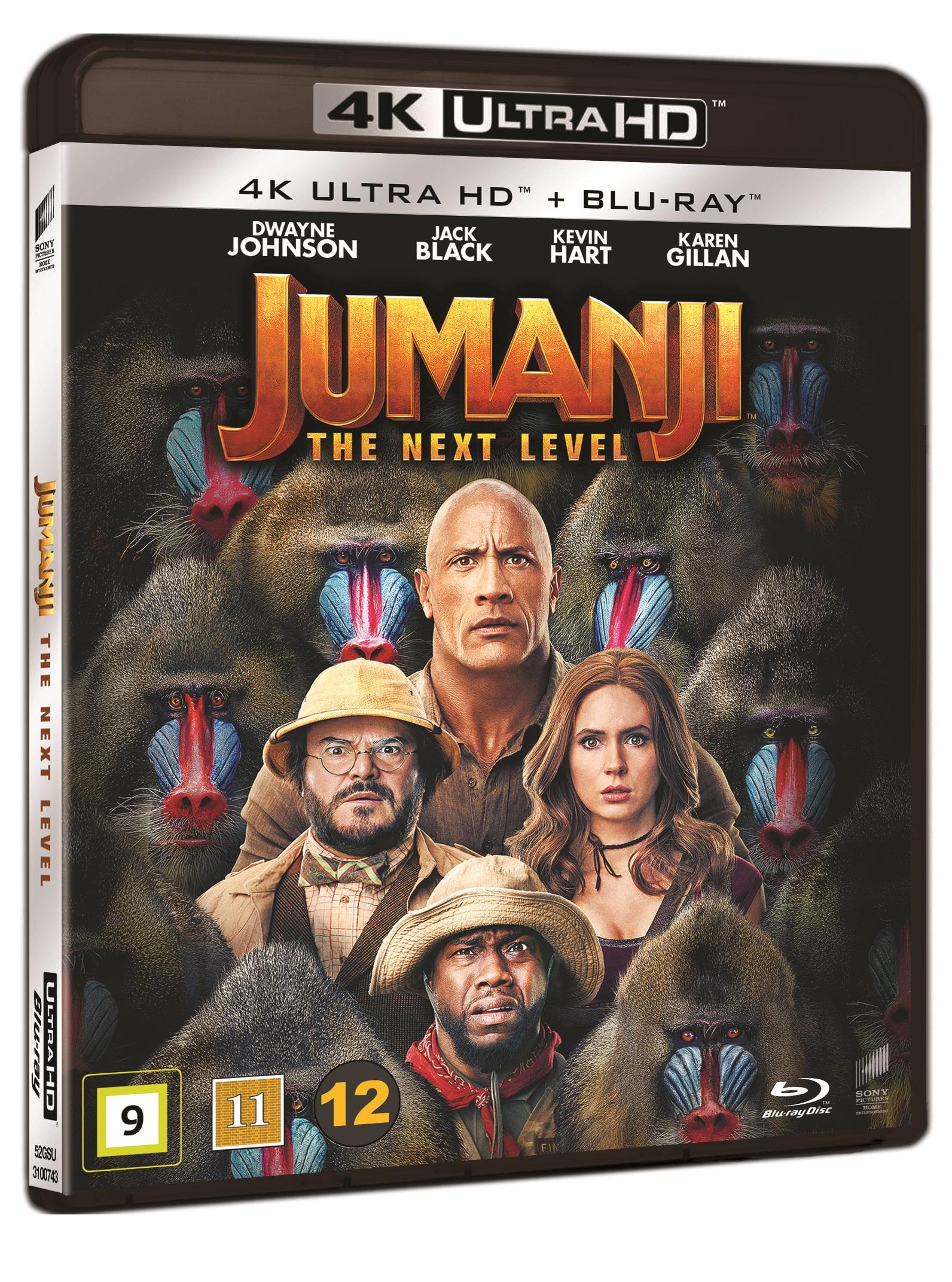 Jumanji: The Next Level -  - Film -  - 7330031007437 - 20/4-2020