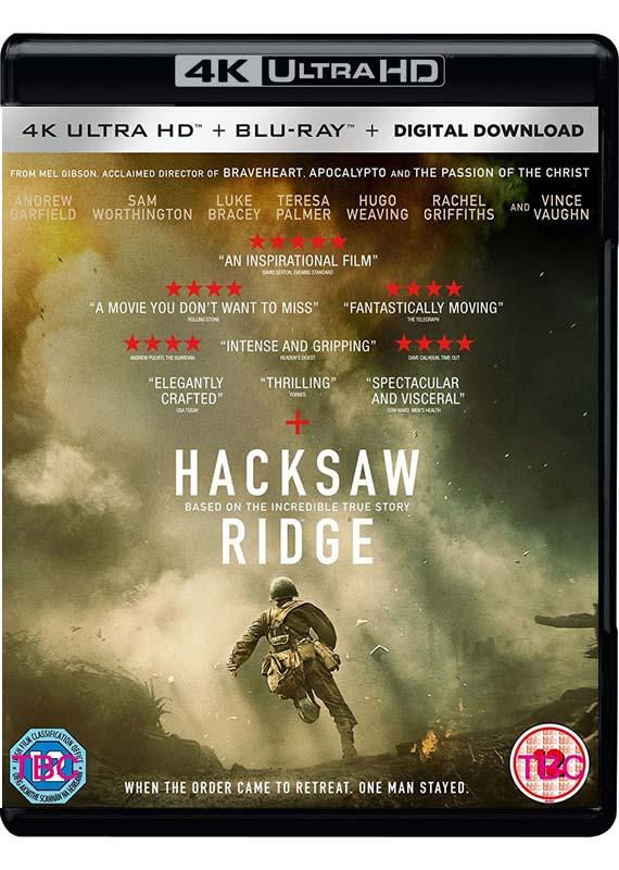 Hacksaw Ridge Hacksaw Ridge Uhd Bd 4k Ultra Hd Bd Region 2