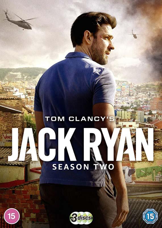Jack Ryan Season 2 - Fox - Film - PARAMOUNT HOME ENTERTAINMENT - 5053083218447 - 3. august 2020