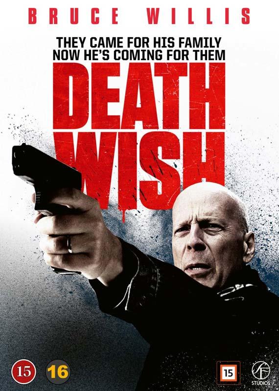 Death Wish - Bruce Willis - Film -  - 7333018012448 - 20/8-2018