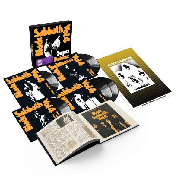 Vol. 4 - Black Sabbath - Musik - BMG Rights Management LLC - 4050538644449 - February 12, 2021