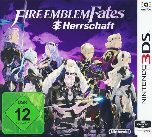 Fire Emblem Fates,Herrsch.,N3DS.2233040 -  - Bøger -  - 0045496472450 -
