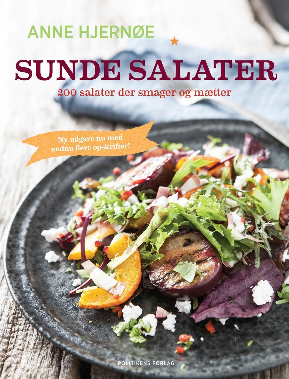 Sunde salater - Anne Hjernøe - Bøger - Politikens Forlag - 9788740026450 - December 4, 2015