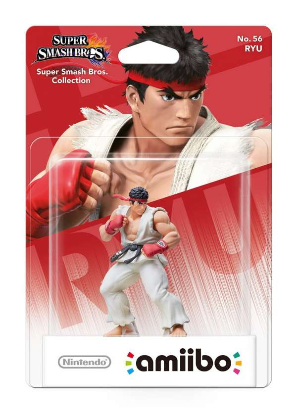 Nintendo AMIIBO Super Smash Bros  Ryu Multi - Multi - Musik -  - 0045496353452 -