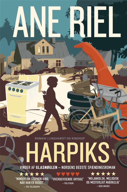 Harpiks - Ane Riel - Bøger - Lindhardt og Ringhof - 9788711918456 - August 30, 2019