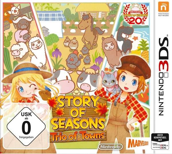Story of Seasons.Trio of.3DS.2238540 -  - Bøger -  - 0045496476458 -