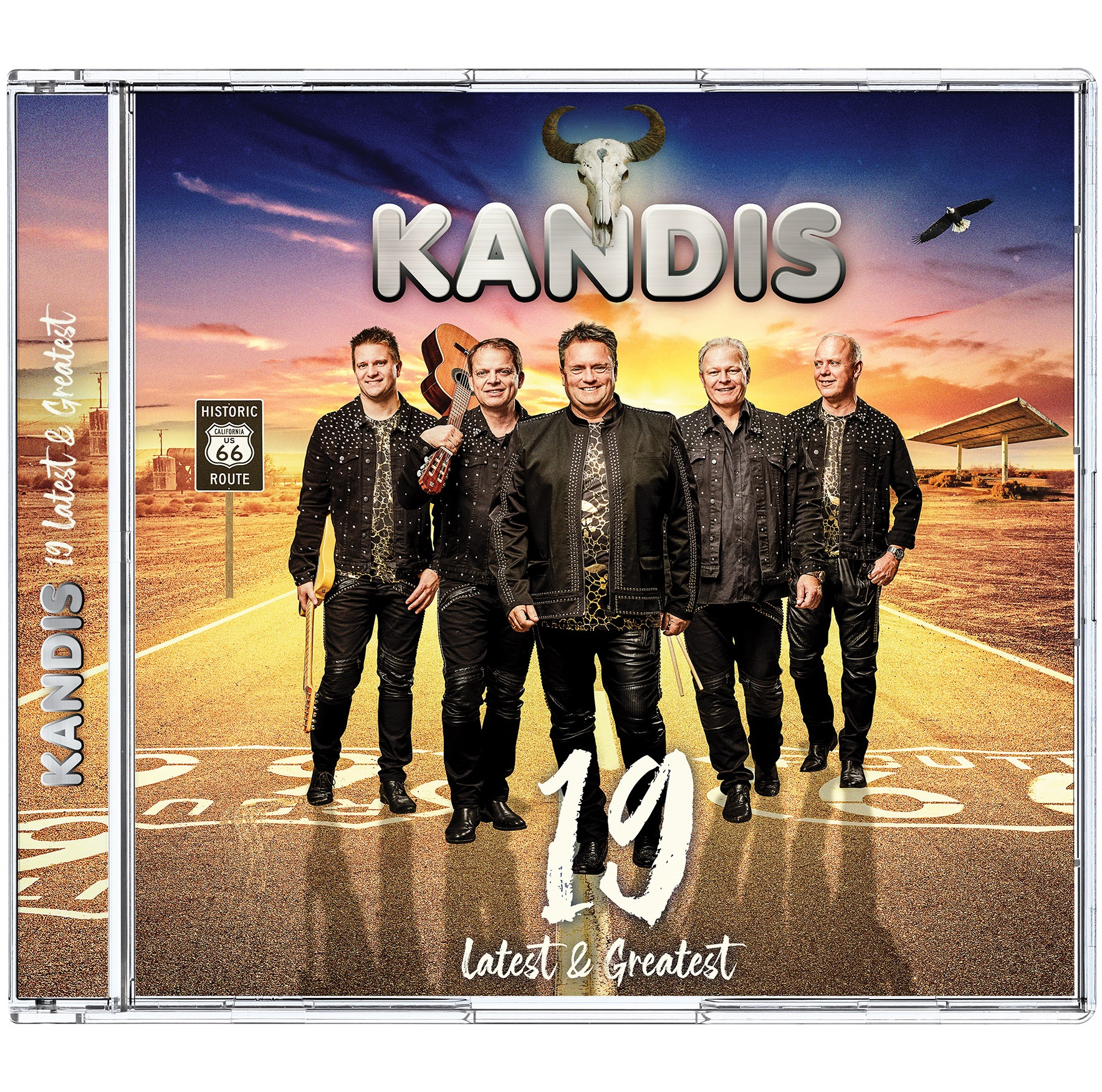 19 - Latest & Greatest - Kandis - Musik -  - 5711053021458 - 15/11-2019