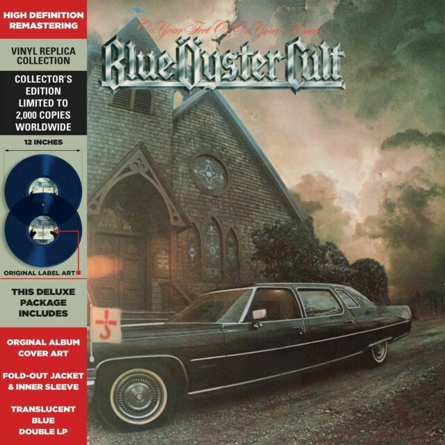 On Your Feet or on Your Knees - Blue Oyster Cult - Musik - CULTURE FACTORY - 0819514011460 - 7/5-2021