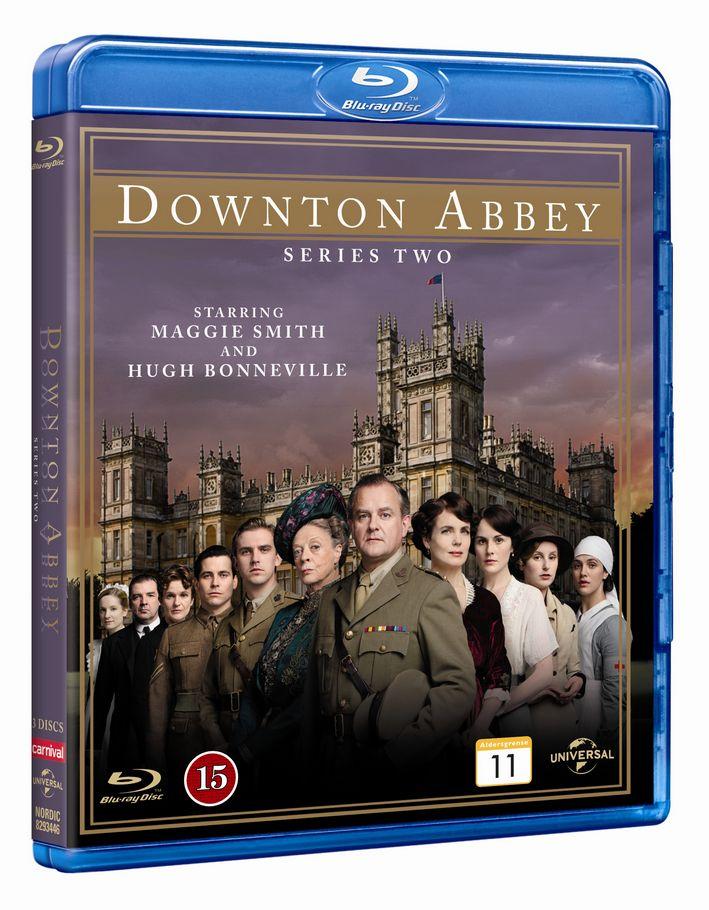 Downton Abbey - Sæson 2 - Series - Film - CARNIVAL EXTERNAL TERRESTRIAL - 5050582934465 - January 22, 2013