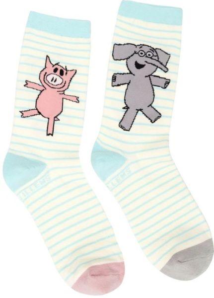 Elephant Piggie Socks Lrg -  - Bøger - OUT OF PRINT USA - 0752489577466 - August 1, 2020